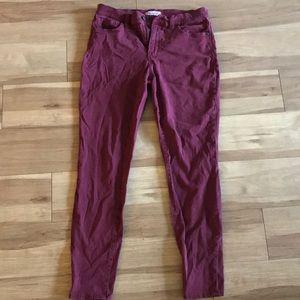 "Madewell 9"" High Riser Skinny Skinny Pants"